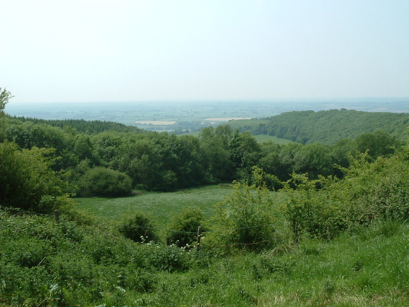 The view from the Cotswold escarpment