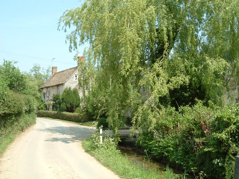 Houses in a Cotswold village
