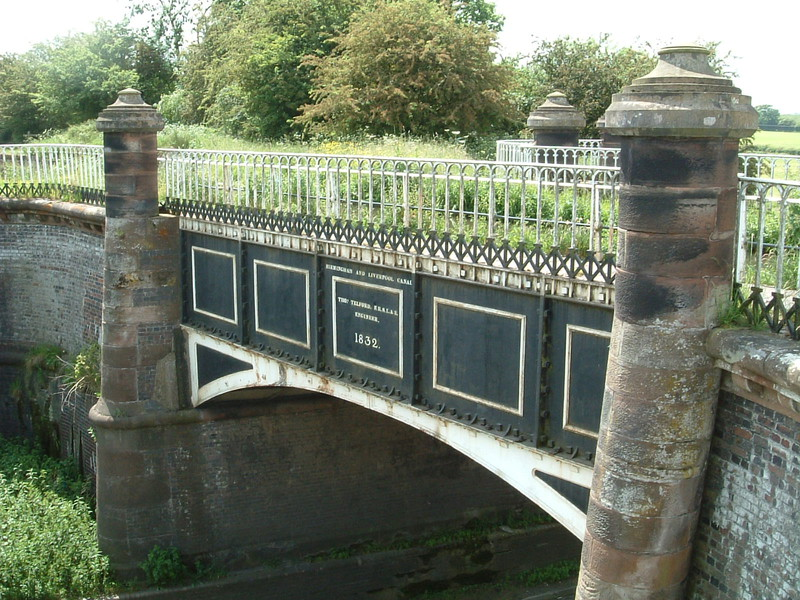 The aqueduct that passes over Watling Street