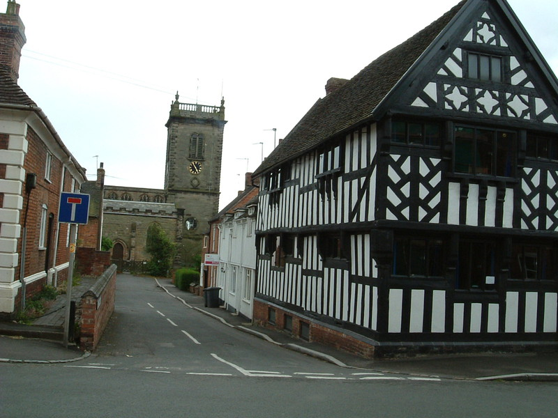 Church House and St Nicholas Church, Abbots Bromley